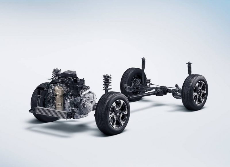 Honda CR-V трансмиссия