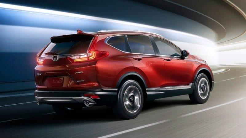 Новая Хонда CR-V
