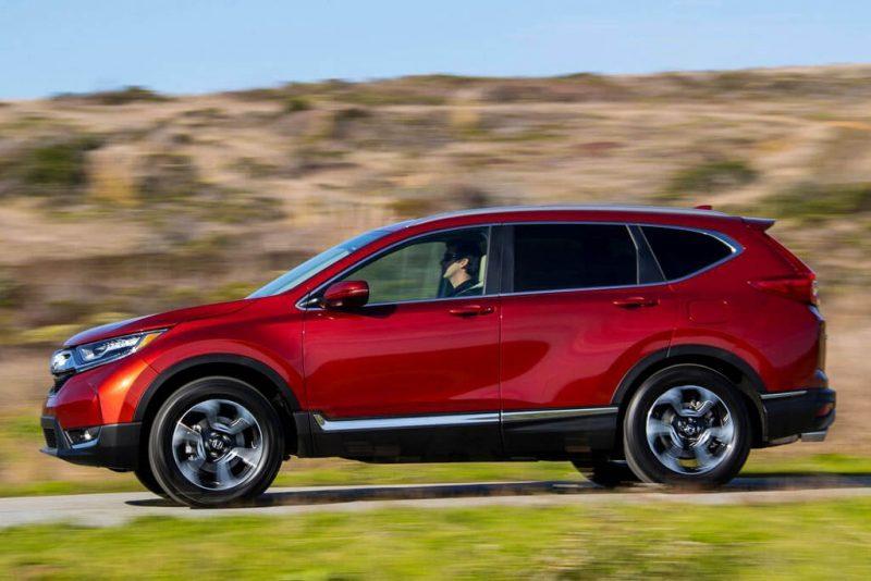 Honda CR-V вид с боку