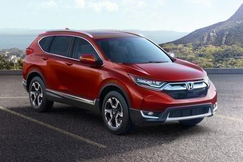 Honda CR-V пятое поколение вид сбоку