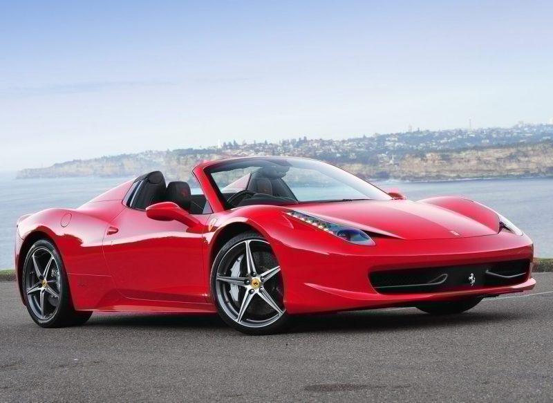 Фото авто Ferrari 458 Spider