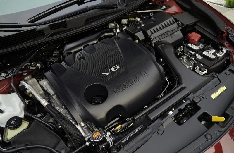 Nissan Maxima двигатель