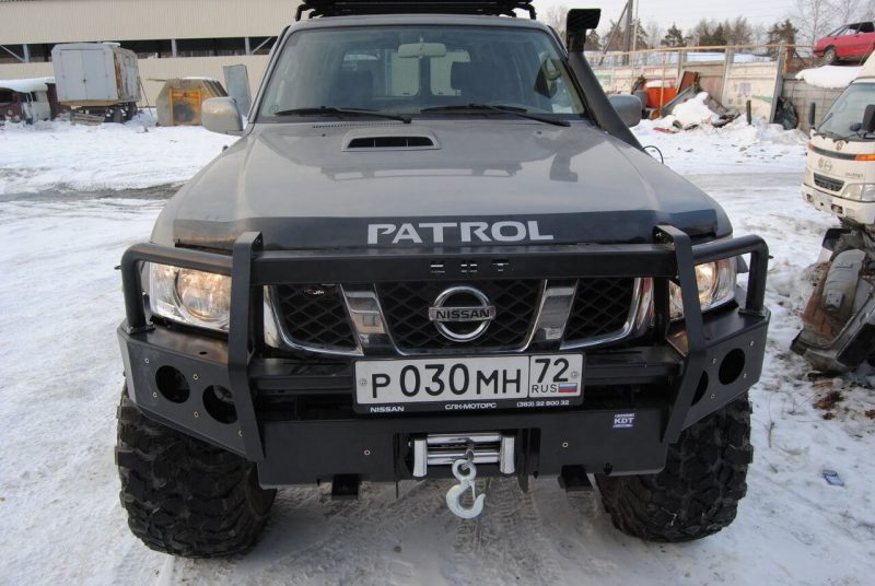 Тюнинг Nissan Patrol