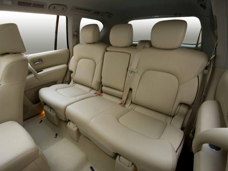 Nissan Patrol задние кресла