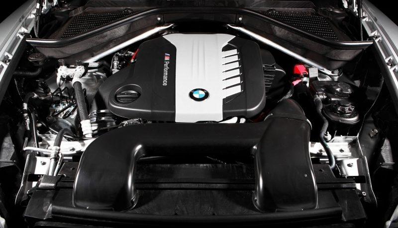 BMW X6 двигатель