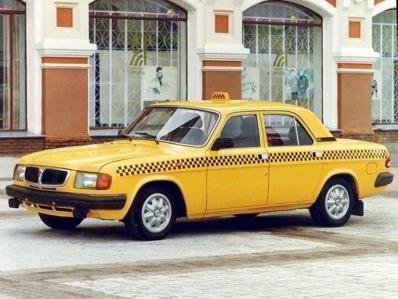 Вид сбоку ГАЗ-3110