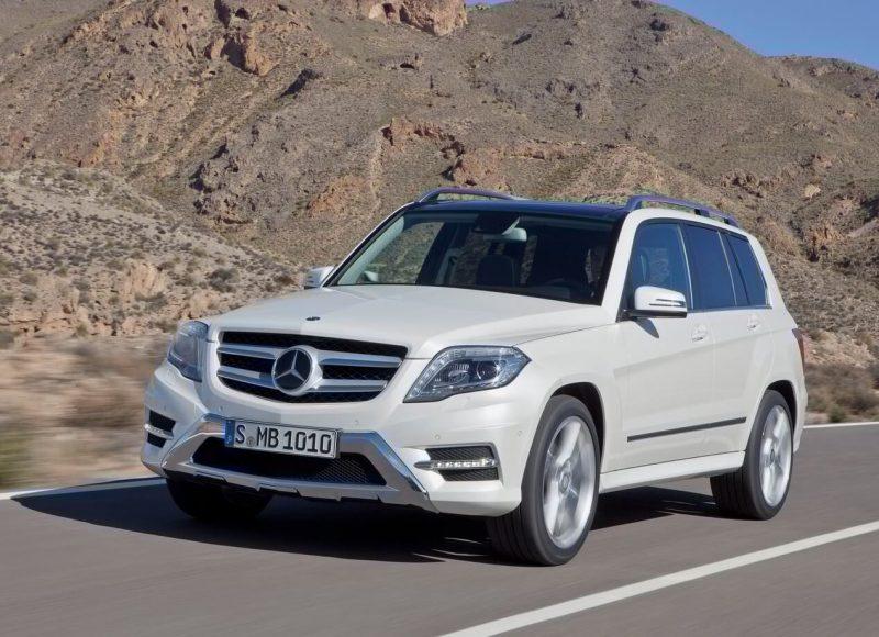 Mercedes-Benz GLK кроссовер