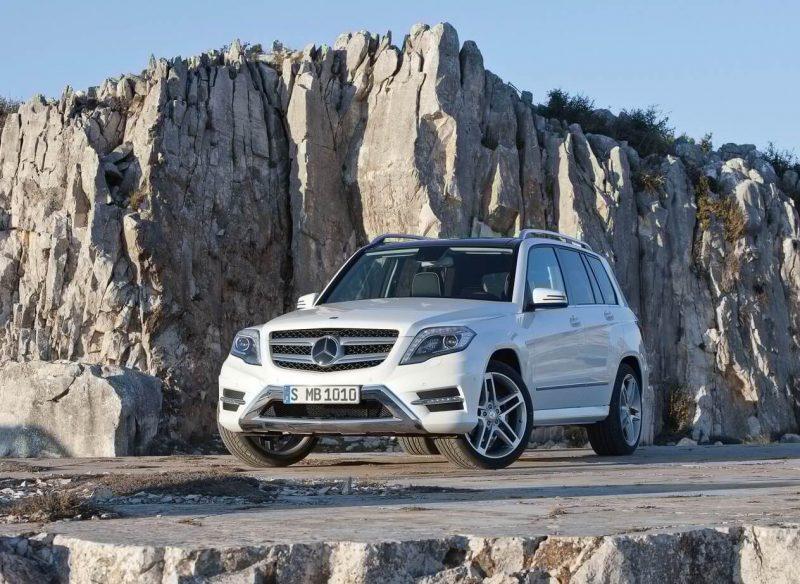 Авто Mercedes-Benz GLK 2013