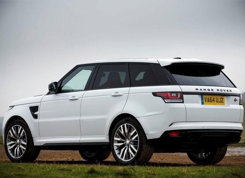 Фото авто Range Rover Sport SVR