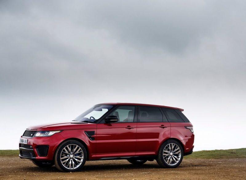 Авто Land Rover Range Rover Sport SVR