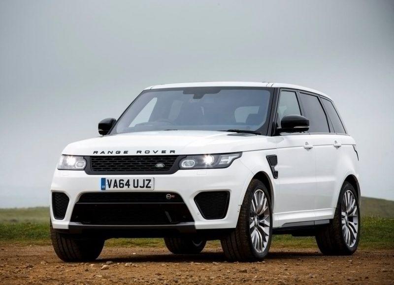 Land Rover Range Rover Sport SVR фото авто