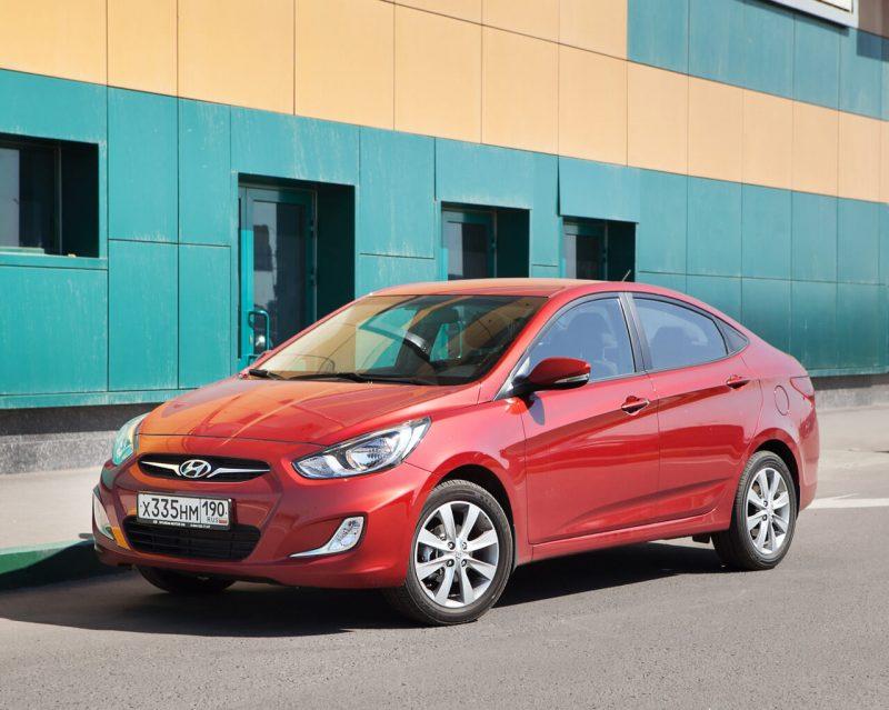 Седан Hyundai Solaris