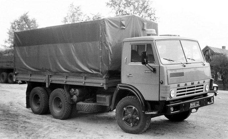 Авто Камаз-5320 1980