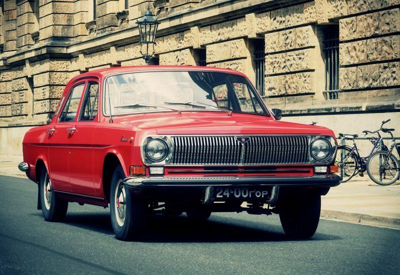 ГАЗ-24 вид спереди