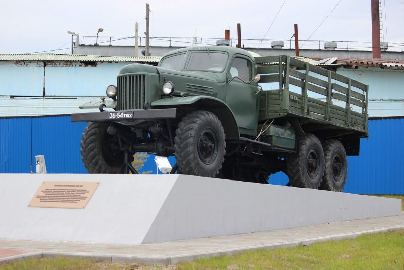 Авто ЗИЛ-157 1958 года