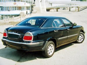 ГАЗ-3111 вид сзади