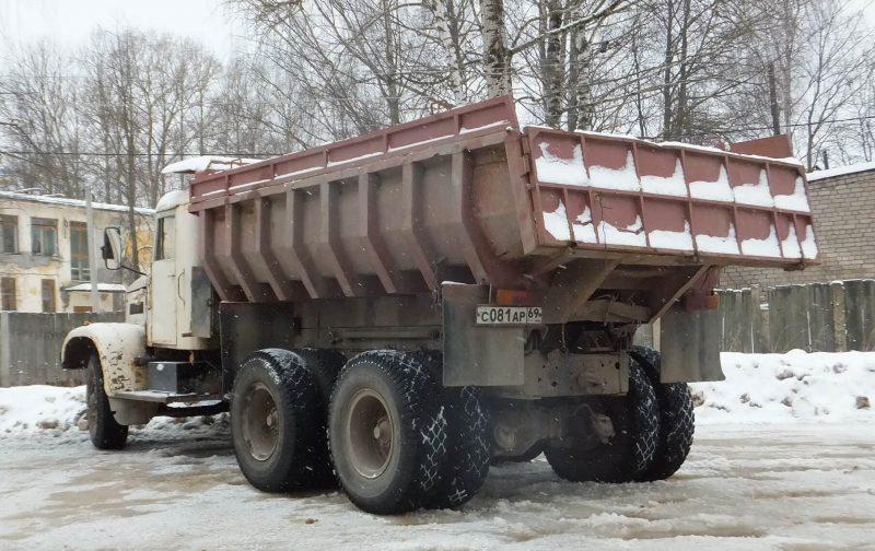 Вид сзади КрАЗ-256