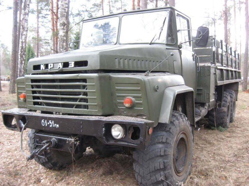 КрАЗ-260 фото грузовика
