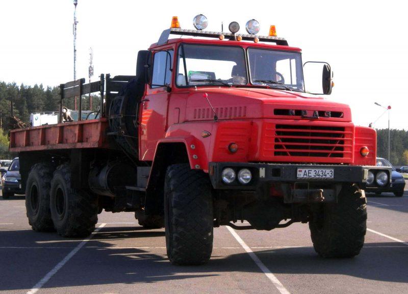 Вид спереди КрАЗ-260