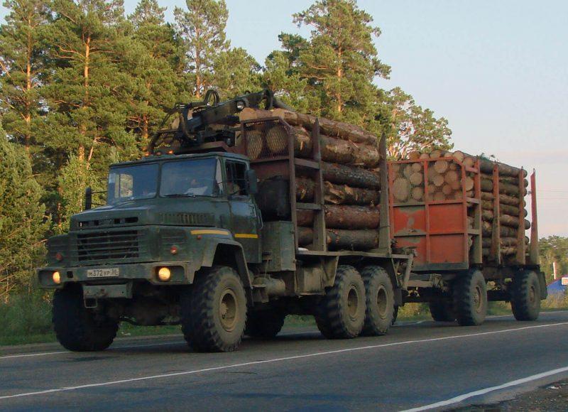 Фото лесовоз КрАЗ-260