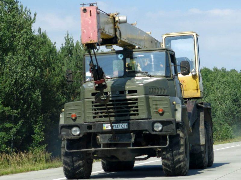 КрАЗ-260 автокран