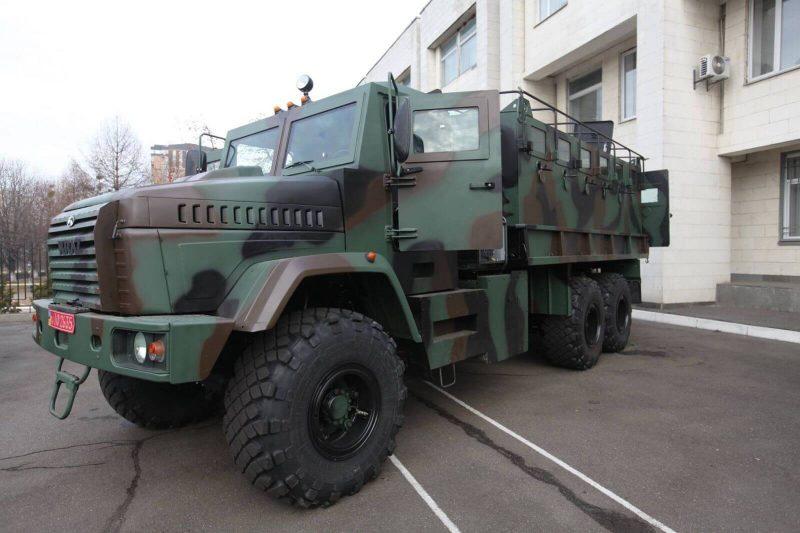 КрАЗ-6322 бронеавтомобиль