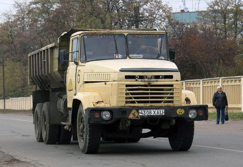 Авто КрАЗ-6510