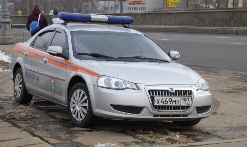 Волга Сайбер МВД