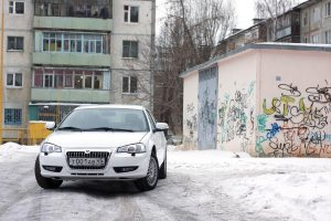 Volga Siber вид спереди