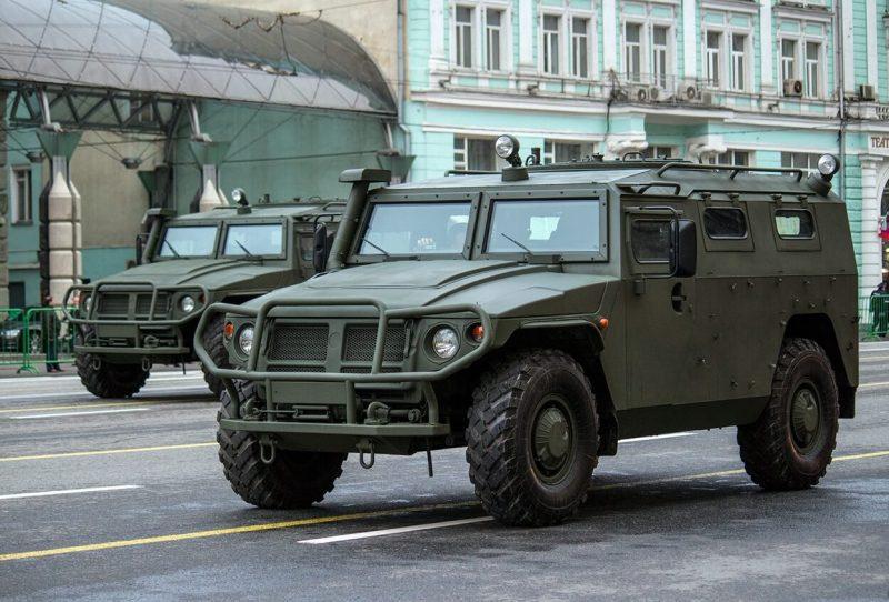 ГАЗ-2330 «Тигр» фото внедорожника