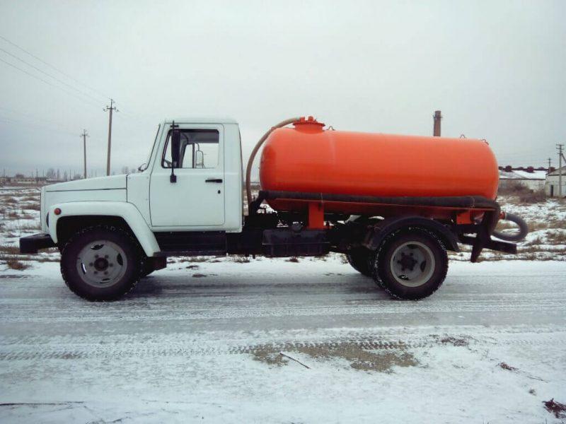 ГАЗ-3307 бензоовз