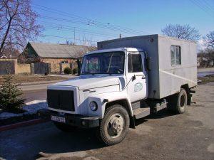 Автомобиль GAZ-3307