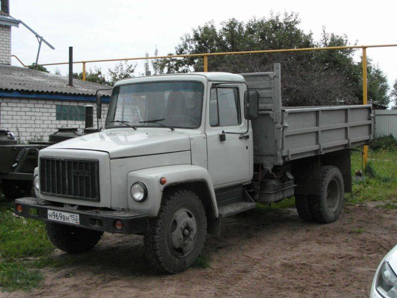 ГАЗ-3307 бортовой
