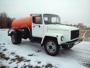 Бензовоз GAZ-3307