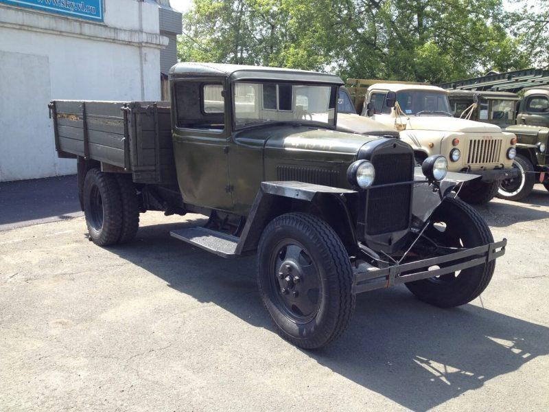 Авто ГАЗ-АА 1932 года