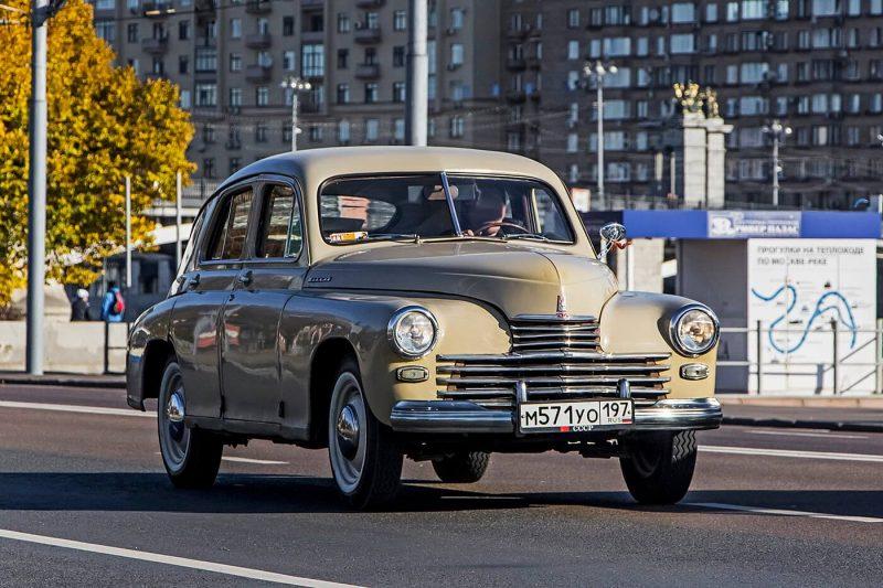 ГАЗ-М20 Победа фото автомобиля