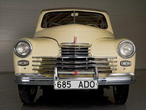 Вид спереди ГАЗ-М20