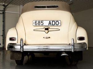 Вид сзади ГАЗ-М20