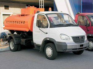 Бензовоз ГАЗ-3310