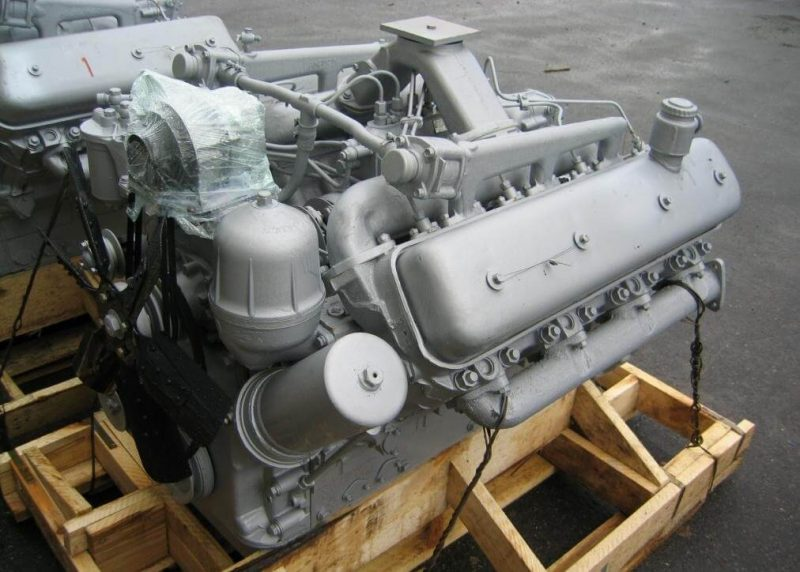 ЯМЗ-238М2 двигатель