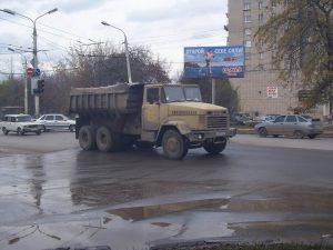 Самосвал Kraz-250