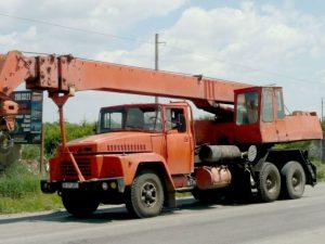 Автокран Kraz-250