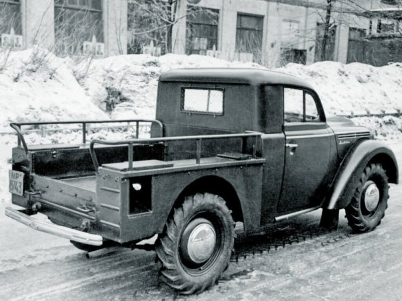 Москвич-400 фото пикапа