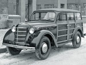 Фургон Moskvich-400