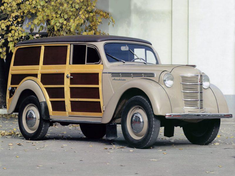 Москвич-400 деревометаллический фургон