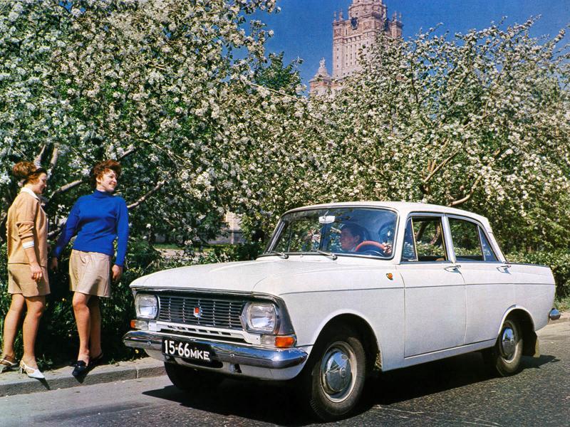 Авто Москвич-408 1971 года