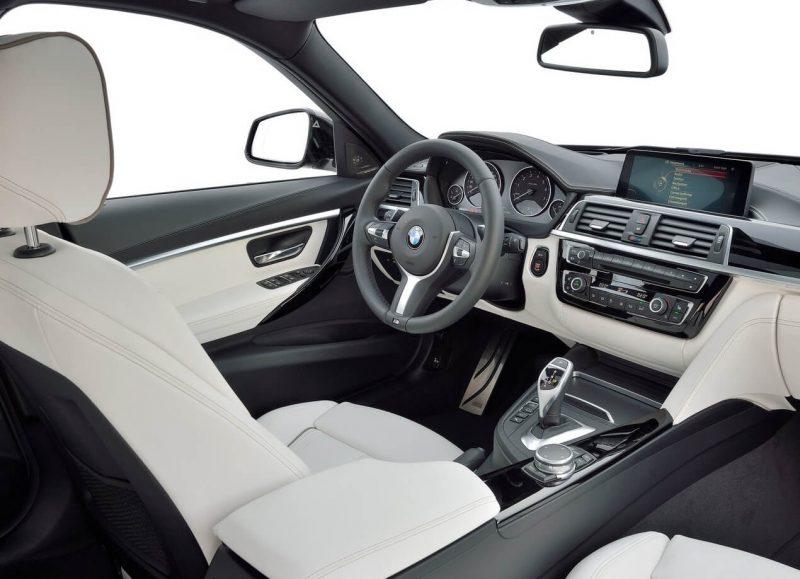 BMW 3 салон