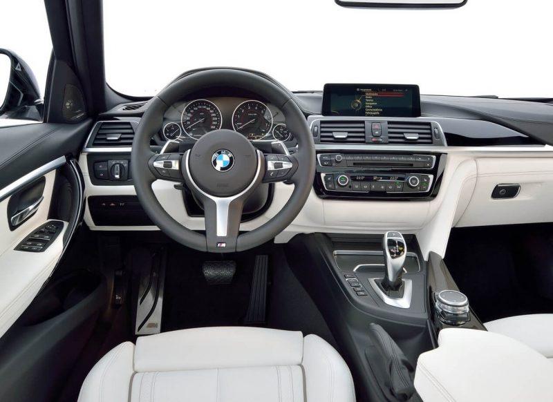 Фото салон BMW 3
