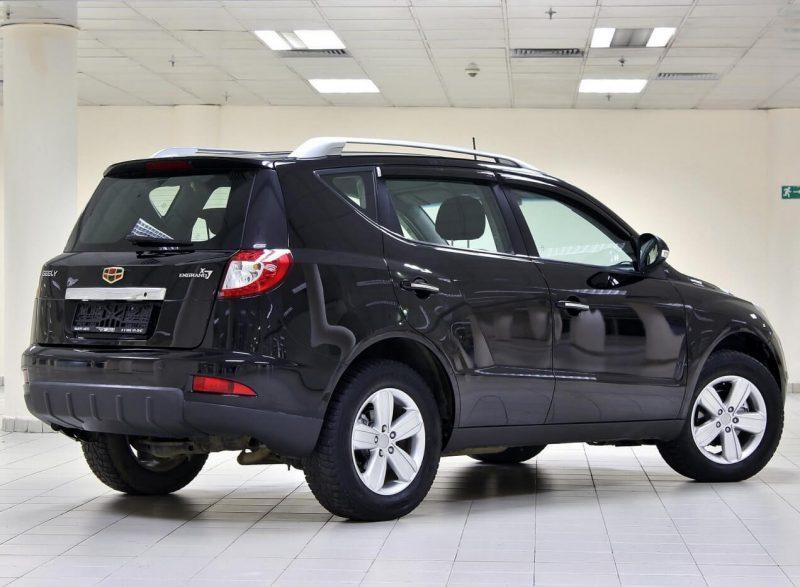 Авто Geely Emgrand X7 2012 года