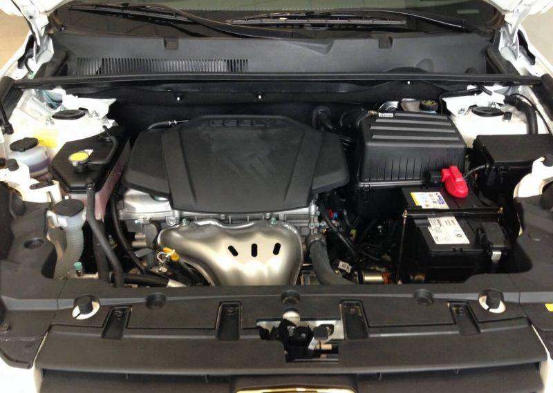 Geely Emgrand X7 двигатель